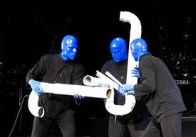 blue man group パフォーマンス