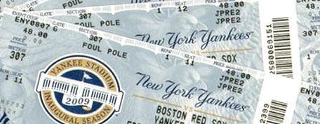 ヤンキース観戦チケット購入