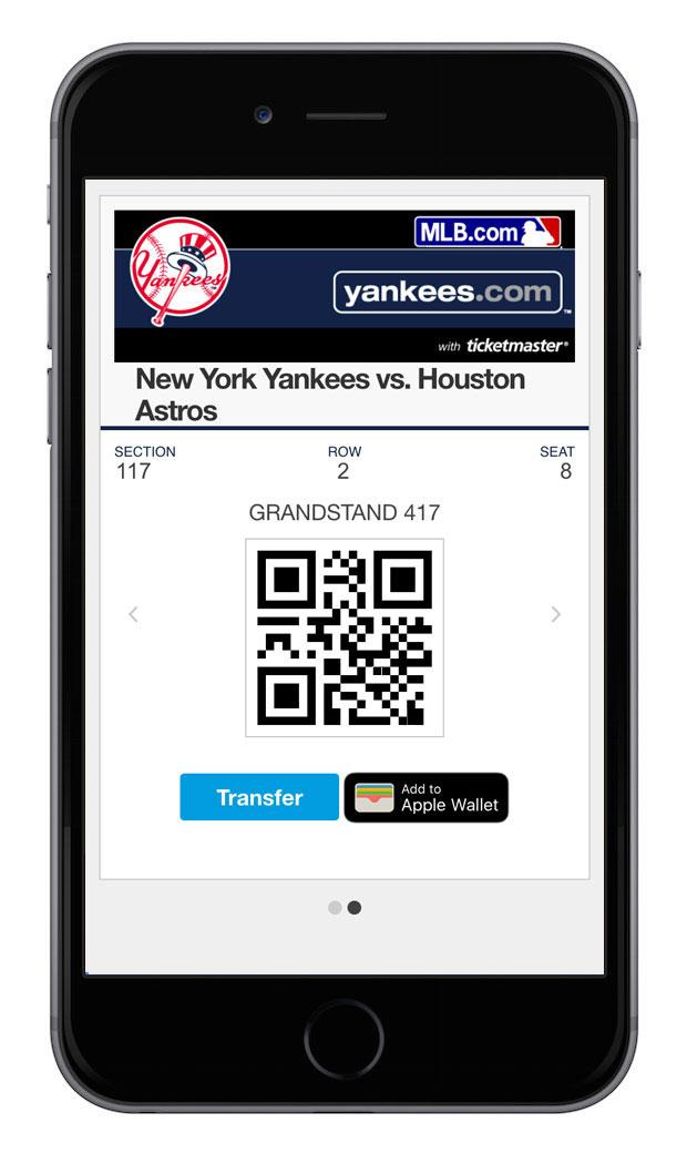 ヤンキースタジアム,MLB観戦チケット